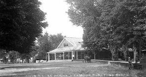 Moon's Lake House 1893 - 1908 Collection of Brookside Museum, Saratoga County Historical Society